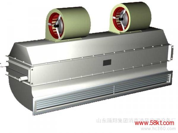 离心式贯流式电热蒸汽热水工业热风幕