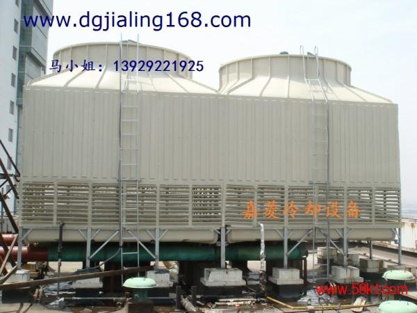 东莞冷却塔老厂方形横流式冷却塔