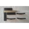 空调外机减震垫 方形橡胶减震块 防震垫