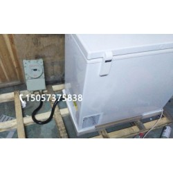 抗腐蚀防爆卧式冰柜 顶开门超低温防爆柜