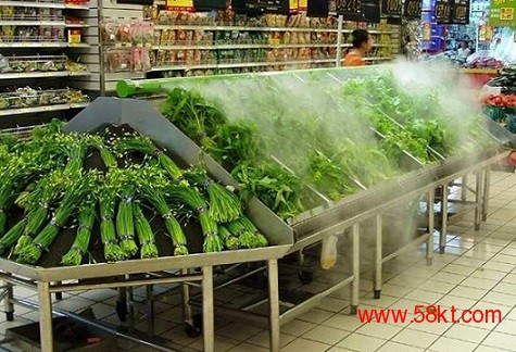 超市蔬菜保鲜加湿器