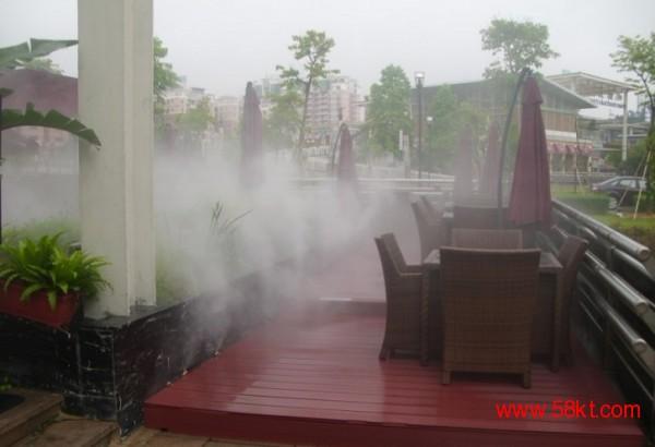 户外餐厅 酒吧 步行街 喷雾降温设备