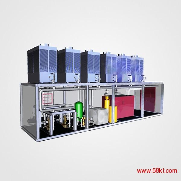 蓄能型空气源热泵机房