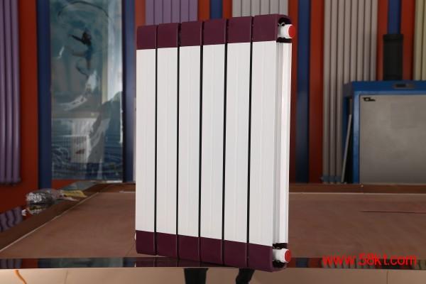 钢制柱型暖气片 钢铝复合散热器