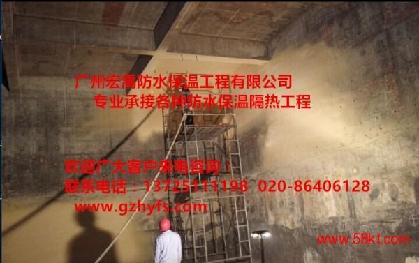 深圳聚氨酯冷库喷涂 聚氨酯冷库外墙喷涂