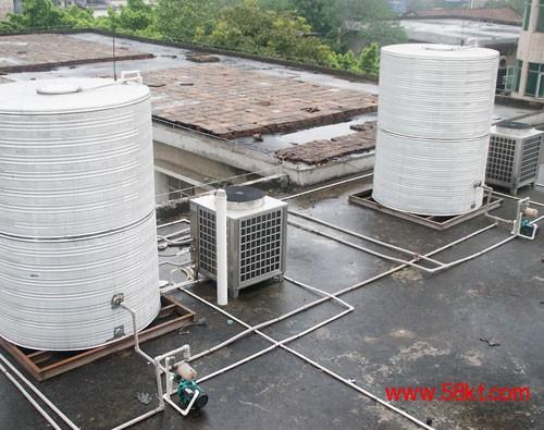 四川商用空气能热泵热水器安装