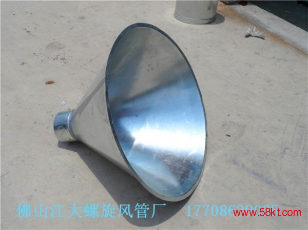 广州螺旋风管厂 镀锌板螺旋风管 抽风排烟