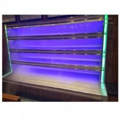 喷雾加湿功能自选菜柜蔬菜海鲜冷藏保鲜台