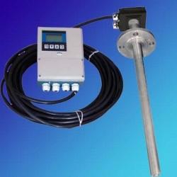 插入式电磁流量计大管道液体流量计