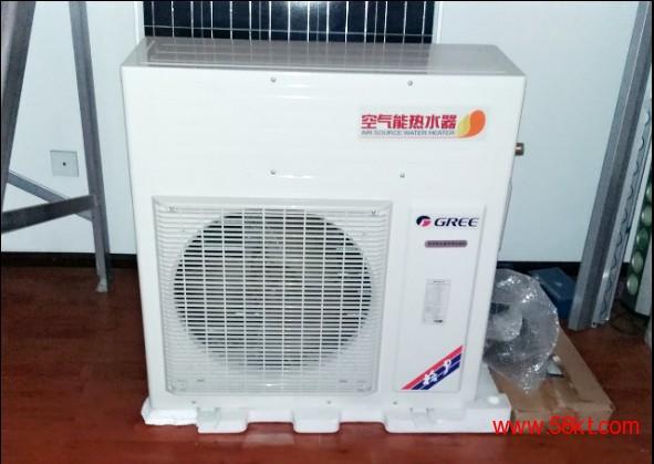 格力空气能热水器 空气源热泵 工地 宾馆