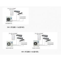 深圳大金空调 2台6P主机 9台内机