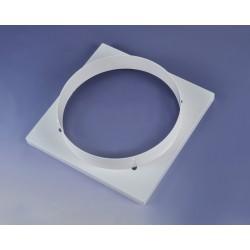 ABS风口 方圆风口罩 方型内格栅出风口