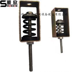 TD阻尼弹簧减振吊钩 风机盘管减震器