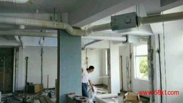 上海网吧棋牌室新风排风系统安装
