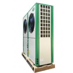 低温环境空气源三联供热泵机组