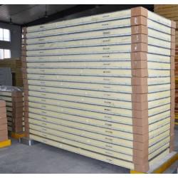 双面彩钢聚氨酯夹芯冷库保温板材