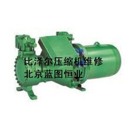 南京比泽尔螺杆压缩机散热不足维修