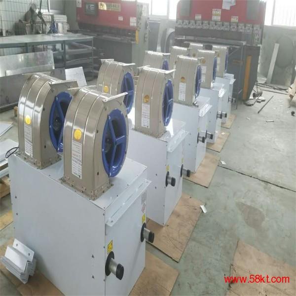 蒸汽热水热风幕机 离心式顶吹空气幕