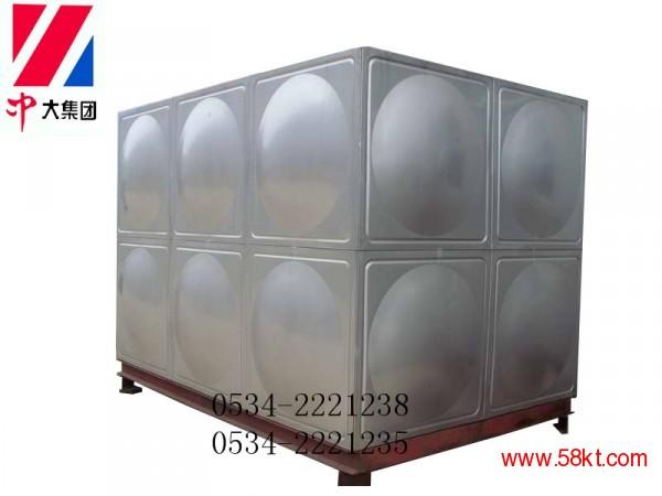10吨304不锈钢水箱 组合式含保温水箱
