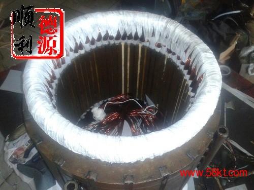 郑州复盛压缩机电机线圈过热维修