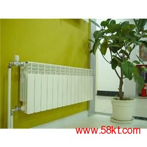 家庭明装暗装用分体压铸铝散热器暖气片