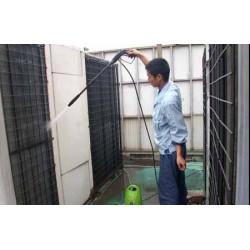 中央空调主机冷凝器清洗
