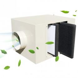 家用新风系统前置管道空气净化器过滤箱