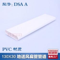 130*30PVC扁管全热回收地送风管道