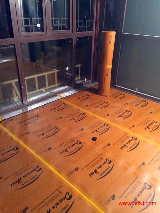 碳纤维电地暖采暖安装