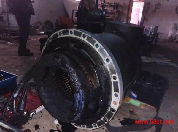 复盛螺杆压缩机电机烧毁,我们对压缩机电机进行维修,电机线圈重做,保证跟原厂一样。