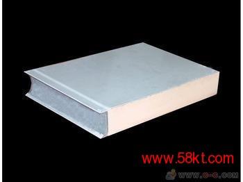 食品净化车间用聚氨酯净化板纯平PU不锈钢