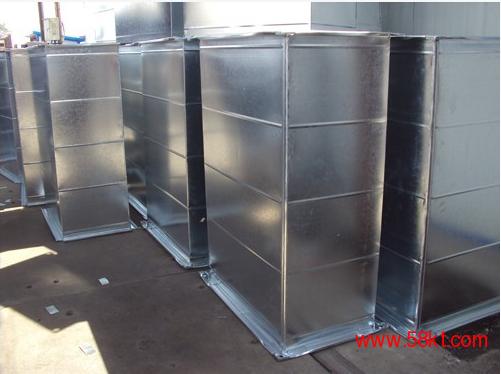白铁风管 镀锌风管 中央空调通风管道加工