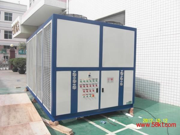 日欧风冷式螺杆机组 深圳冷水机