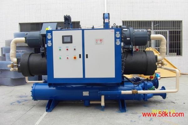 日欧水冷式螺杆机组 工业冷水机 制冷机