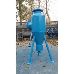 井水专用旋流除砂器, 地源热泵配套,井水用旋流除砂器