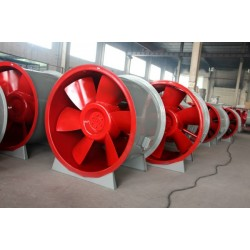 HTF轴流高温排烟风机 3C认证排烟风机