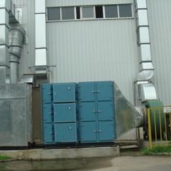 喷漆车间废气处理上海怡帆机电工程