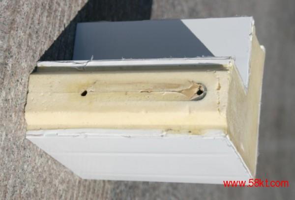 沈阳不锈钢B1级聚氨酯冷库板不锈钢冷库门