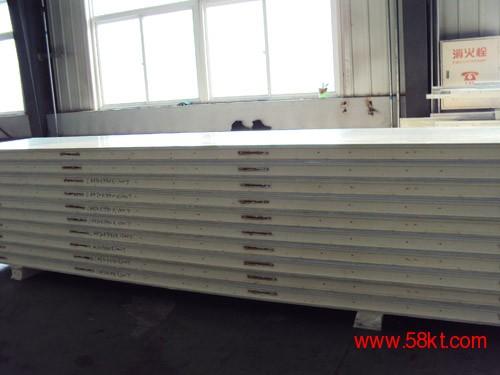 不锈钢B1级聚氨酯冷库板B2级聚氨酯冷库