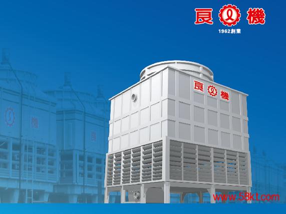 方型逆流式冷却塔  LFC冷却塔