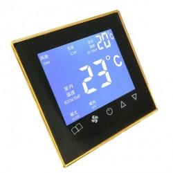触屏中央空调温控器风机盘管温度控制面板
