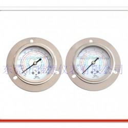 60轴向带边冷媒压力表 冷水机压力表, 冷媒压力表 冷水机压力表 冷媒油压表