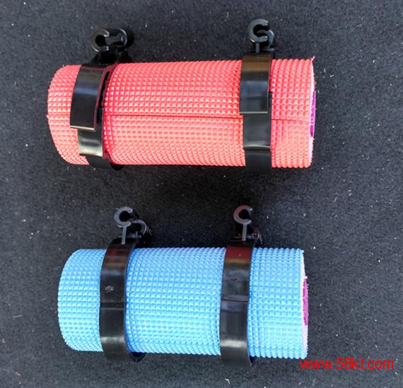 红蓝两色中央空调一体地暖保温管