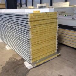 工业厂房聚氨酯复合墙面板, 结合能保温美观