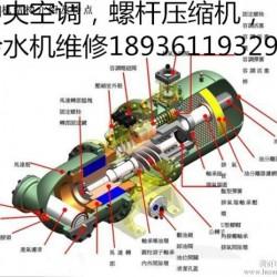 昆山专业维修中央空调,螺杆压缩机,冷水机