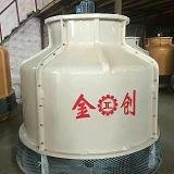 低噪音逆流型制冷设备圆形冷却塔