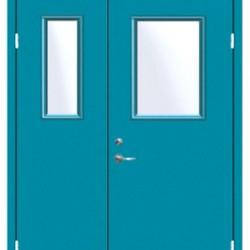 山东优质净化单门喷塑净化钢制门, 喷塑净化钢制门