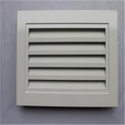 外墙圆形/方形铝合金防雨百叶风口