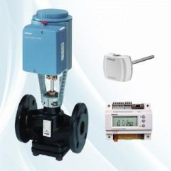 西门子电动二通水阀VVF42.65-50, 法兰连接,公称压力16kg,用于换热机组,空调机组