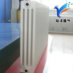 钢四柱暖气片钢制柱型散热器家用水暖工程用